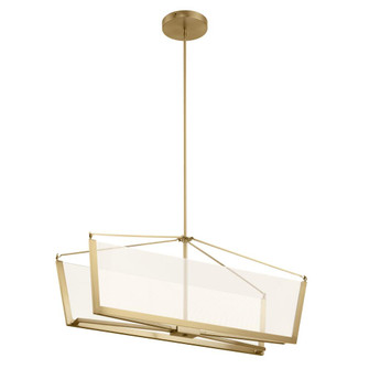 Linear Chandelier LED (2 52293CGLED)