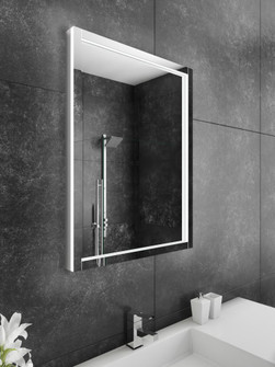 Flore Dual Lighted Mirror (4456|FLOR24326000D)