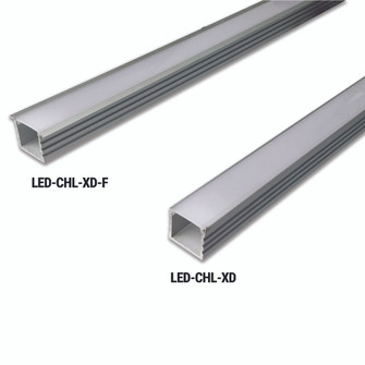 Extra Deep Mounting Channel with Flange for LED Tape (674 LEDCHLXDF)