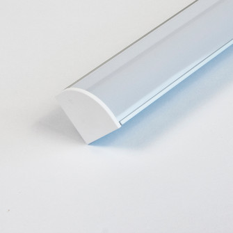 2 END CAPS WITH HOLE FOR THE LED-CHL-45-1200. (674 LEDCHL451200ECH)