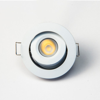 12VDC 6W Mini-Dimmable and Adjustable LED Downlight (674|GMR6WWW)