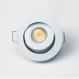 12VDC 3W Mini-Dimmable and Adjustable LED Downlight (674|GMR4WWW)