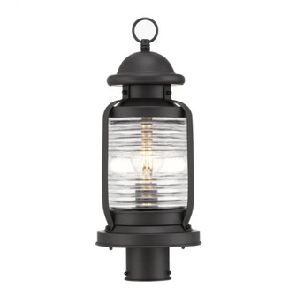 Post-Top Fixture Weathered Bronze Finish Clear Glass (32|6113300)