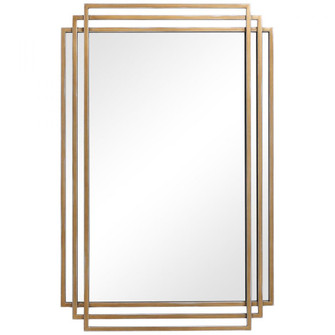 Uttermost Amherst Brushed Gold Mirror (85|09688)
