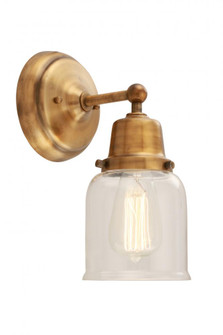 Small Bell 1 Light Sconce (3442|6231WGBG52)