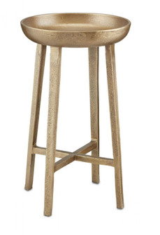 Tomas Small Antique Brass Table (92|40000126)