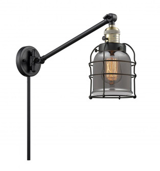 Small Bell Cage 1 Light Swing Arm (3442|237BABG53CELED)