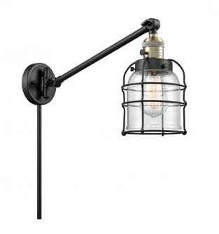 Small Bell Cage 1 Light Swing Arm (3442|237BABG52CELED)