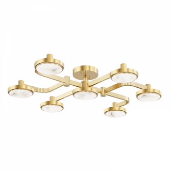 6 LIGHT CHANDELIER (57 6332AGB)