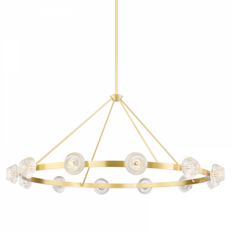 12 LIGHT CHANDELIER (57 6165AGB)