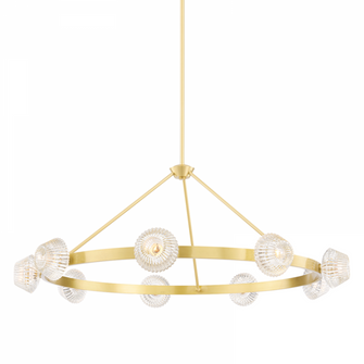 9 LIGHT CHANDELIER (57 6150AGB)