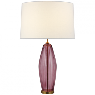Everleigh Large Fluted Table Lamp (279|KS3132ORCL)