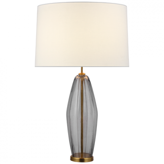 Everleigh Large Fluted Table Lamp (279|KS3132SMGL)