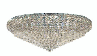 ECA4 Belenus Collection Flush Mount D48in H21in Lt:36 Chrome Finish (Royal Cut Crystals) (758|ECA4F48CRC)