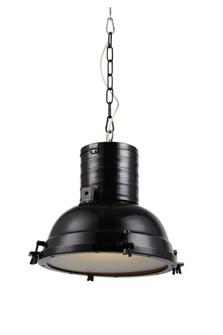 Industrial Collection Chandelier D:15.75 H:16 Lt:1 Black Finish (758|PD1219)