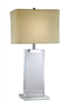 Regina Collection 1-Light Chrome Crystal Table Lamp (758|TL1001)
