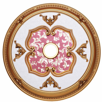 32 in. Ceiling Medallion in French Gold (758 MD107D32FG)
