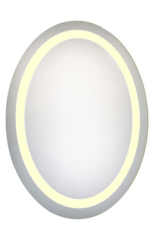 LED Hardwired Mirror Oval W23H30 Dimmable 3000K (758|MRE6019)
