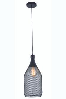 Valo 1 light Black Pendant (758|LD2109D8BK)