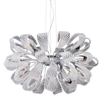 ORIGAMI,21LT CHANDELIER,CLEAR (4304 22951014)