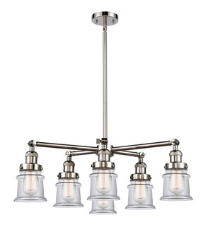 Small Canton 6 Light Chandelier (3442|2076CRPNG182S)