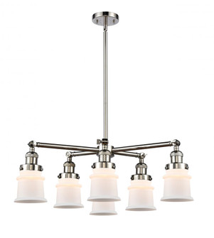 Small Canton 6 Light Chandelier (3442|2076CRPNG181S)