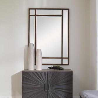 Uttermost Adelio Rectangular Iron Mirror (85|09765)