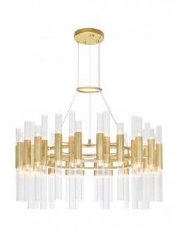 72 Light Chandelier with Satin Gold Finish (3691 1120P3272602)