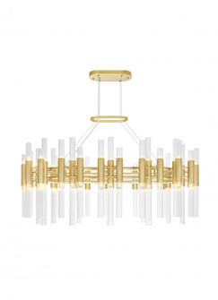 72 Light Chandelier with Satin Gold Finish (3691 1120P3972602)