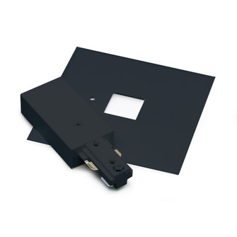 Live End Feed with Cover, 2 Circuit Track, Black (104 NT2311B)