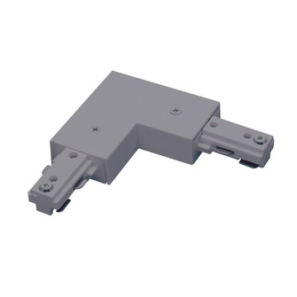 L Connector, 2 Circuit Track Left or Right Polarity, Silver (104 NT2313S)