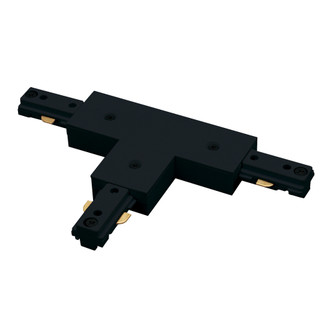 T Connector, 2 Circuit Track, Right Polarity, Black (104 NT2314B)