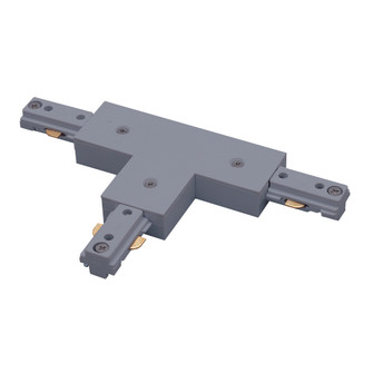 T Connector, 2 Circuit Track, Right Polarity, Silver (104 NT2314S)