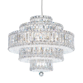 22 Light Crystal Pendant in Polished Stainless Steel (168|6673H)