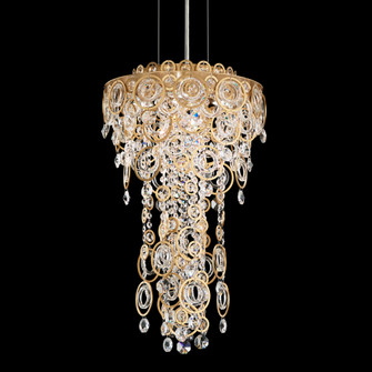 4 Light Crystal Pendant in Stainless Steel (168|DR1412N401H)
