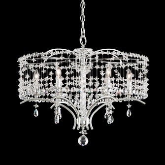 6 Light Crystal Chandelier in Antique Silver (168|TC1024N48H)