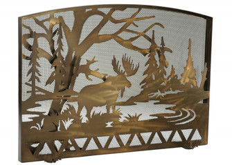 """50""""W X 35.5""""H Moose Creek Arched Fireplace Screen (96