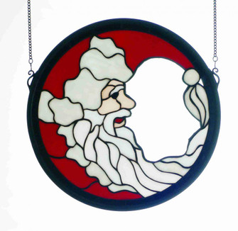 15 Wide X 15 High Santa Claus Window (96|65263)
