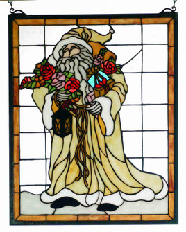 16 Wide X 20 High Father Christmas Window (96|65264)