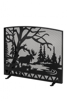 """47""""W X 39""""H Moose Creek Arched Fireplace Screen (96