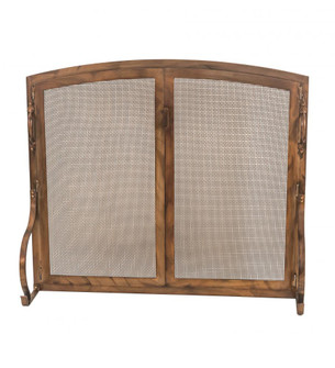 """44"""" Wide X 38"""" High Prime Arched Operable Door Fireplace Screen (96