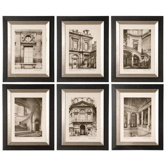 Uttermost Paris Scene Framed Art Set/6 (85|33430)