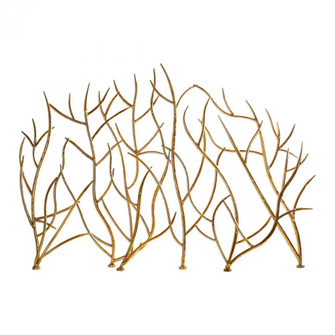 Uttermost Gold Branches Decorative Fireplace Screen (85 18796)