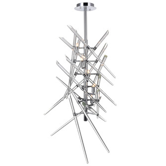 5 Light Mini Chandelier with Chrome Finish (3691|1154P135601)
