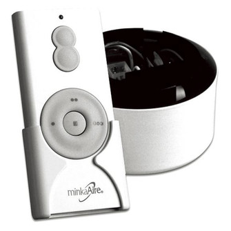 Textured White Fan Remote (39 RM588TW)