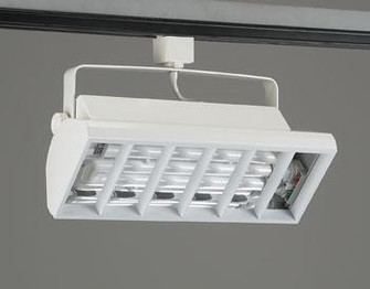 PLC Track Lighting 2 Light  Biax-CFL Collection TR552 WH (192|TR552WH)