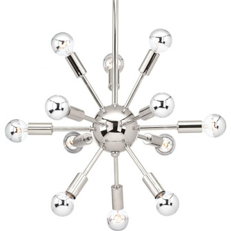 Ion Collection Twelve-Light Chandelier (149|P400040104)