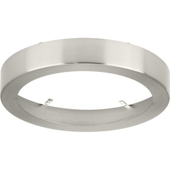"""Everlume Collection Brushed Nickel 7"""" Edgelit Round Trim Ring (149