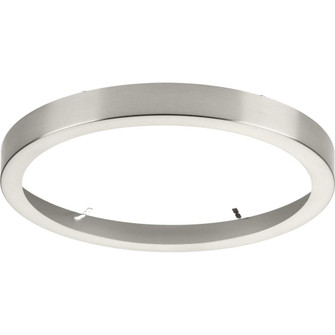 """Everlume Collection Brushed Nickel 11"""" Edgelit Round Trim Ring (149
