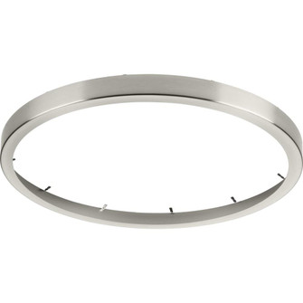 """Everlume Collection Brushed Nickel 18"""" Edgelit Round Trim Ring (149